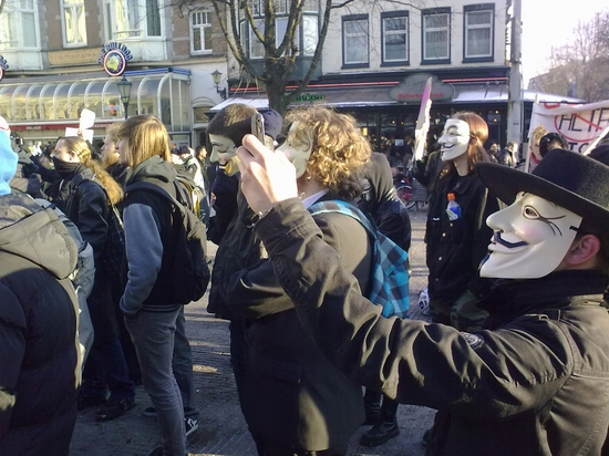 Acta Protest Amsterdam